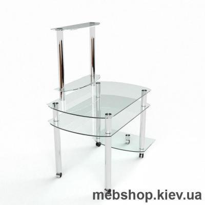 Компьютерный стол из стекла БЦ Ирида (1200*700)