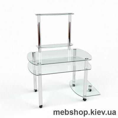 Компьютерный стол из стекла БЦ Ирида (1300*750)