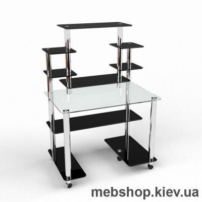 Компьютерный стол из стекла БЦ Калипсо (1200*800)