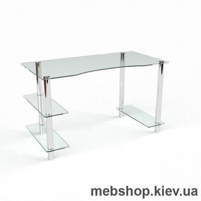 Компьютерный стол из стекла БЦ Камилла (1300*650)