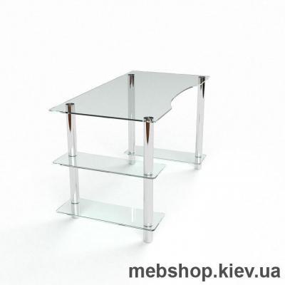 Компьютерный стол из стекла БЦ Камилла (1400*700)