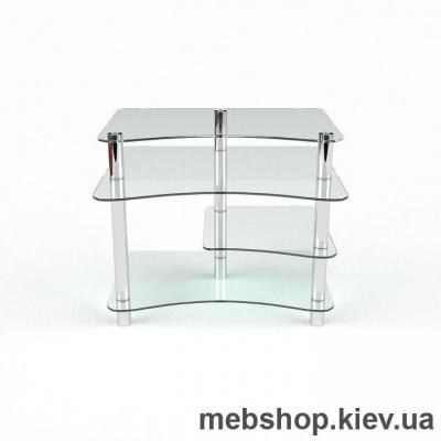 Компьютерный стол из стекла БЦ Капитошка (1100*920)