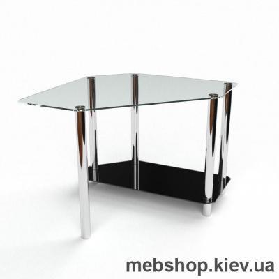 Компьютерный стол из стекла БЦ Каспиан (1200*1200)