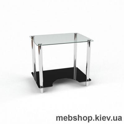 Компьютерный стол из стекла БЦ Клото (900*650)