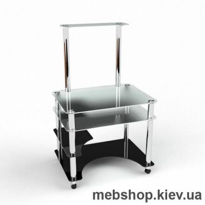 Компьютерный стол из стекла БЦ Кондор (1100*970)