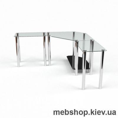 Компьютерный стол из стекла БЦ Кредо (1600*1600)