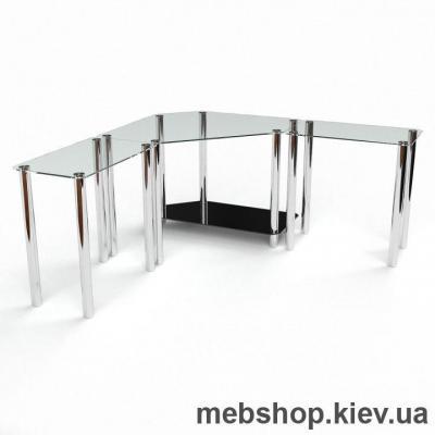 Компьютерный стол из стекла БЦ Кредо (1900*1900)