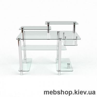 Компьютерный стол из стекла БЦ Лео (1300*700)