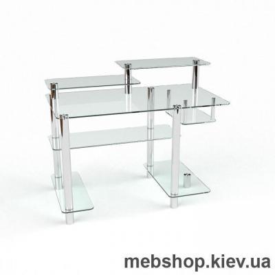 Компьютерный стол из стекла БЦ Лео (1400*750)