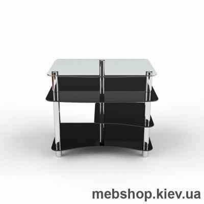 Купить Компьютерный стол из стекла БЦ Леон (900*770). Фото