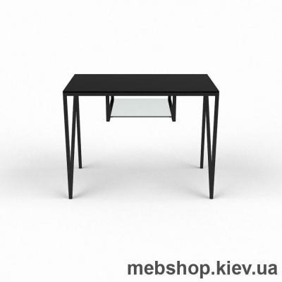Купить Компьютерный стол из стекла БЦ Лорен (900*500). Фото