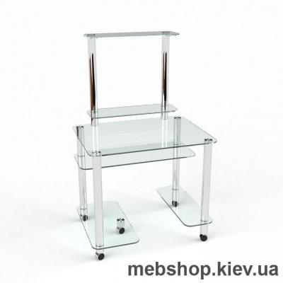Компьютерный стол из стекла БЦ Люкс (1100*730)