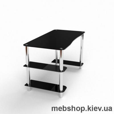 Компьютерный стол из стекла БЦ Магистр (1400*700)