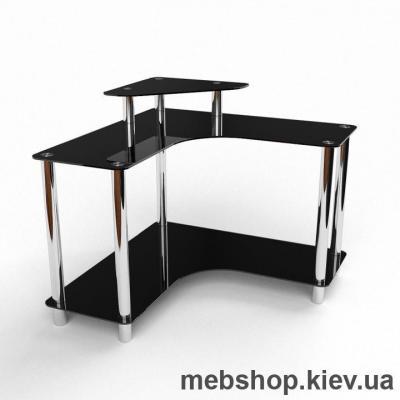 Компьютерный стол из стекла БЦ Марко (1000*1000)