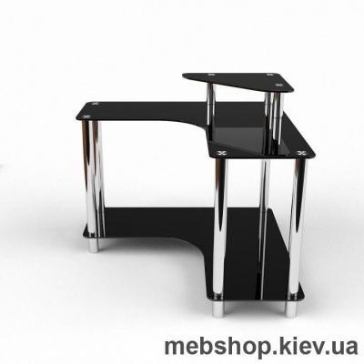 Компьютерный стол из стекла БЦ Марко (1200*1200)