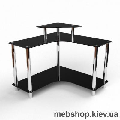 Купить Компьютерный стол из стекла БЦ Марко (1400*1400). Фото