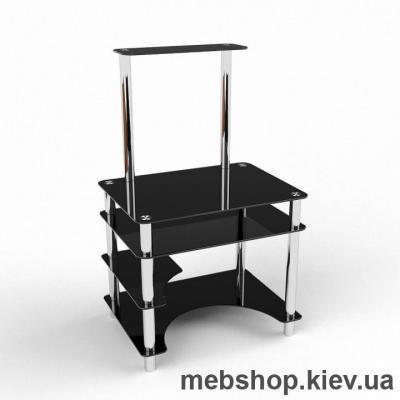 Компьютерный стол из стекла БЦ Мираж  (700*620)