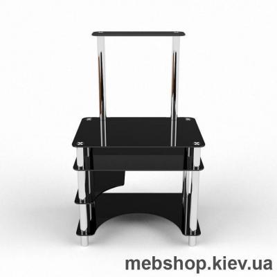Купить Компьютерный стол из стекла БЦ Мираж  (700*620). Фото