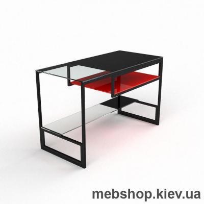 Компьютерный стол из стекла БЦ Мустанг (1000*550)