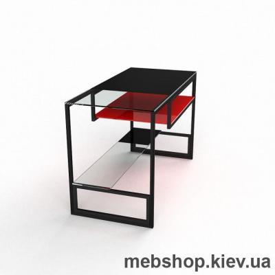 Компьютерный стол из стекла БЦ Мустанг (1200*650)