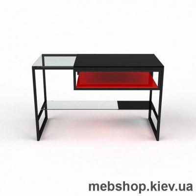 Купить Компьютерный стол из стекла БЦ Мустанг (1300*700). Фото