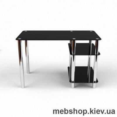 Купить Компьютерный стол из стекла БЦ Нептун (1100*600). Фото