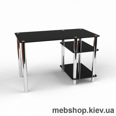 Компьютерный стол из стекла БЦ Нептун (1200*650)