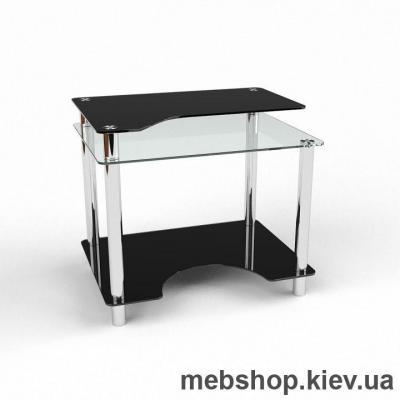 Компьютерный стол из стекла БЦ Никс (900*650)