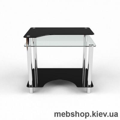 Купить Компьютерный стол из стекла БЦ Никс (900*650). Фото