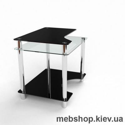Компьютерный стол из стекла БЦ Никс (1000*700)