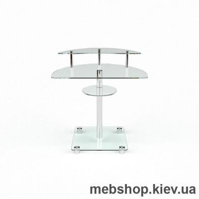 Купить Компьютерный стол из стекла БЦ Оскар (800*500). Фото