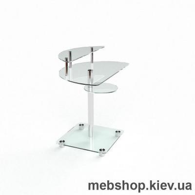 Компьютерный стол из стекла БЦ Оскар (800*500)