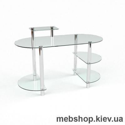 Компьютерный стол из стекла БЦ Пионер (1400*650)