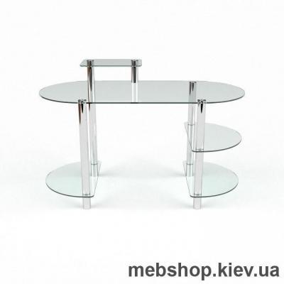 Купить Компьютерный стол из стекла БЦ Пионер (1600*750). Фото