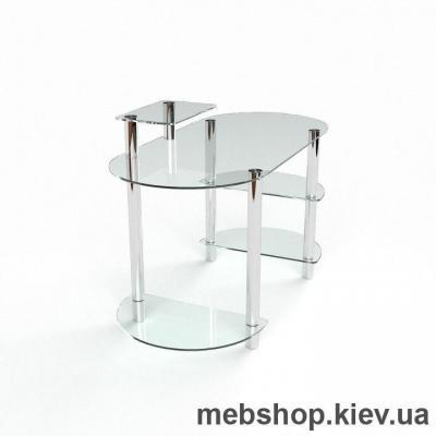 Компьютерный стол из стекла БЦ Пионер (1600*750)