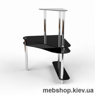 Компьютерный стол из стекла БЦ Посейдон (900*900)
