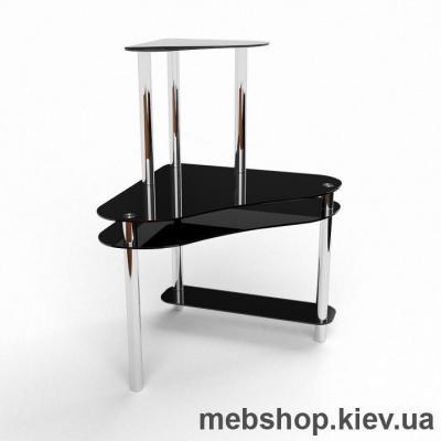 Компьютерный стол из стекла БЦ Посейдон (1200*1200)