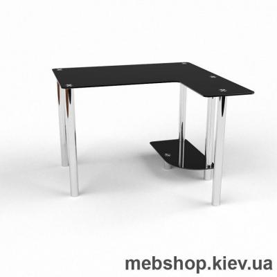 Компьютерный стол из стекла БЦ Протей(900*900)