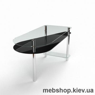 Компьютерный стол из стекла БЦ Рамундо(1300*550)