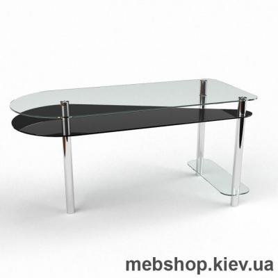 Компьютерный стол из стекла БЦ Рамундо(1400*600)