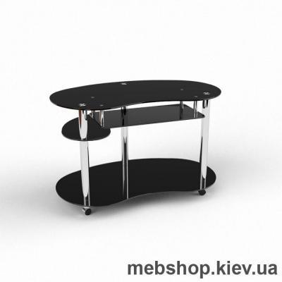 Компьютерный стол из стекла БЦ Рассел(1000*650)