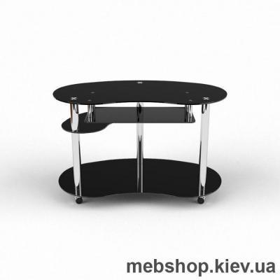 Купить Компьютерный стол из стекла БЦ Рассел(1200*750). Фото