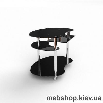 Компьютерный стол из стекла БЦ Рассел(1200*750)