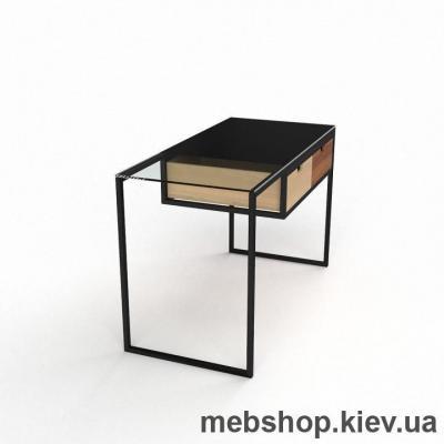 Компьютерный стол из стекла БЦ Ритм(1200*650)