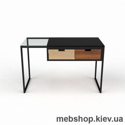 Компьютерный стол из стекла БЦ Ритм(1300*700)