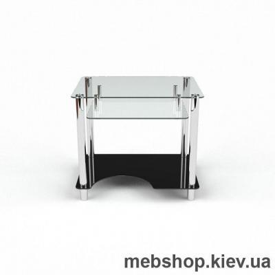 Купить Компьютерный стол из стекла БЦ Ровесник (1100*750). Фото