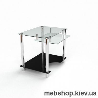 Компьютерный стол из стекла БЦ Ровесник (1100*750)
