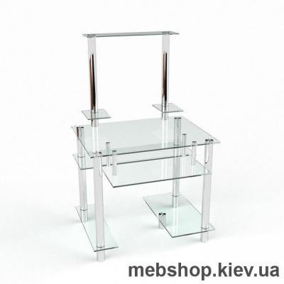 Компьютерный стол из стекла БЦ Рондо (700*620)