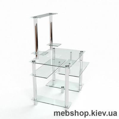 Компьютерный стол из стекла БЦ Рондо (1100*970)