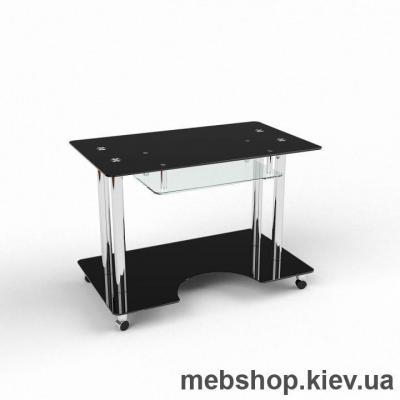 Компьютерный стол из стекла БЦ Саванна (1000*600)